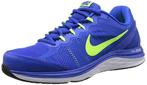 Nike Dual Fusion Run 3 653596-400 Herren Laufschuhe Training Blau (Hyper Cobalt/Volt-University Blue-White) 41