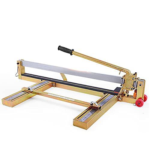 Cortador de Azulejos Manual,1000 mm Cortadora de Azulejos Profesional Cortador de Azulejos de Cerámica con Guía Láser Ajustable para Corte de Precisión (800mm)