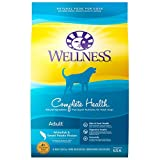 Wellness Complete Health Natural Dry Dog Food, Whitefish & Sweet Potato, 15-Pound Bag