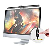 LED e-Reading Schreibtischlampen, USB Angetrieben Computer Monitor Lampe, Einstellbare Helligkeit und Farbtemperatur, Hängen Sie es an Monitore zu Platz Sparen, Augenpflege