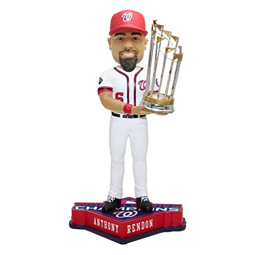 SP Images Anthony Rendon Nationals FOCO World Series Champions 2019 Bobblehead Figure 10