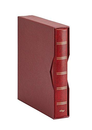 Pardo 134005 - Album para colección billetes universales, color burdeos