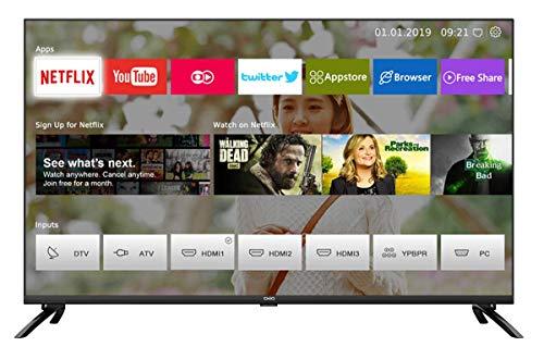 CHiQ U43H7L UHD 4K Smart TV, 43 Pouces, HDR 10/hlg, WiFi,Bluetooth, vidéo, Youtube, Netflix