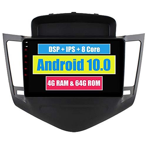 Roverone 8 Pouces Android 6.0 Octa Core Autoradio lecteur GPS de voiture pour Chevrolet Cruze Lacetti 2008-2011 avec navigation radio stéréo Bluetooth Mirror Link Full écran tactile