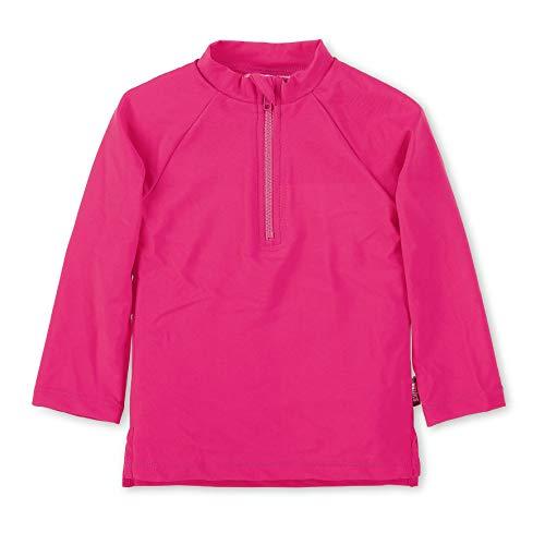 Sterntaler Kinder Langarm-Schwimmshirt, UV-Schutz 50+, Alter: 4 - 6 Jahre, Größe: 110/116, Farbe: Magenta