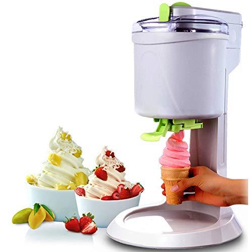 Home Ice Cream Maker Machine, vollautomatischer Mini-Obst-Gefrierbehälter, Joghurt-, Sorbet- und Eismaschine für die Home DIY Kitchen
