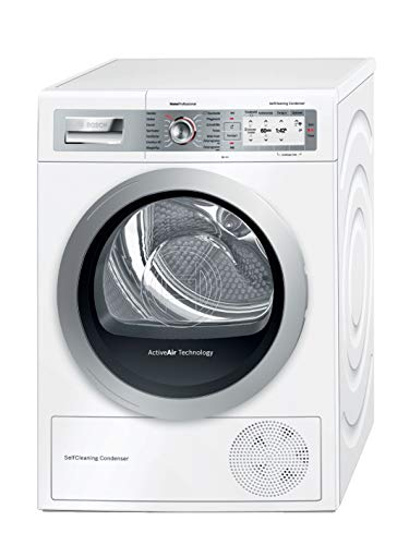 Bosch HomeProfessional WTYH7701 Autonome Charge avant 8kg A+++ Blanc sèche-linge - Sèche-linge (Autonome, Charge avant, Condensation, Blanc, Tactil, Droite)