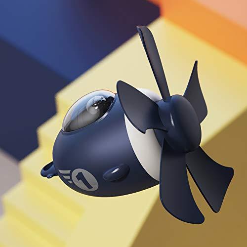 LTXDJ Ventilador colgante Mini Ventilador Doméstico Carga USB con Luz nocturna para dormir, tienda de oficina, casa, viaje