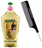 Pinaud Clubman Since 1810 AFTER SHAVE LOTION (w/Sleek Comb) Essence Imported from France, Blended in USA, Heal Razor Nicks, Soothes & Cools Tender Skin (6 ounce size)