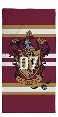 Harry Potter Gryffindor - Toalla de playa (70 x 140 cm, 100% algodón), diseño de Gryffindor