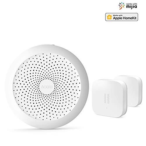 Aqara Kit, Aqara Homekit Con Aqara Gateway, Aqara Sensor De Vibración, Compatible Con La para Mijia Y para Homekit