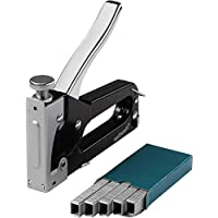 "Wolfcraft 7088000 7088000-1 Set tacocraft 5"" Grapadora con Caja metálica 4-8 mm, Incl. 1.000 Grapas 8 mm Tipo 053, 4-8mm"