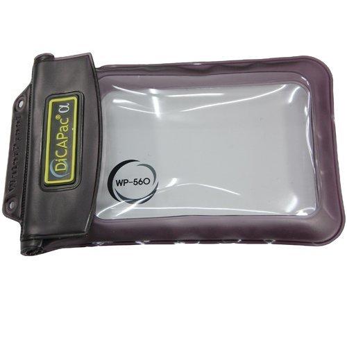 Dicapac WP-560 - Unterwasserkameragehäuse (10 m, Transparent, Schwarz, Samsung Galaxy Note N7000, GT-N7000, I9220, 185 mm, 118 mm)