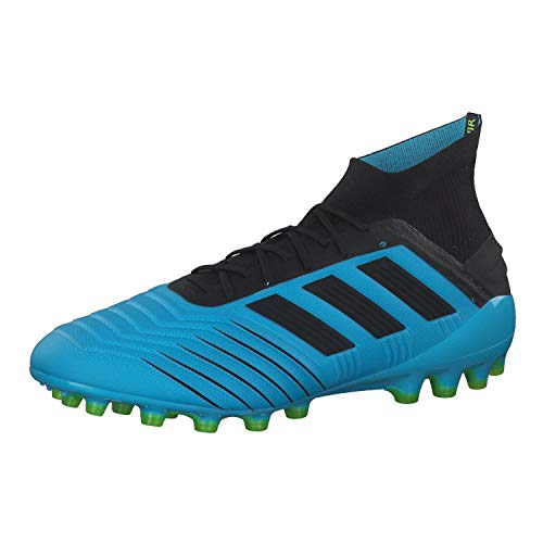 adidas Performance Predator 19.1 AG voetbalschoen heren lichtblauw/zwart, 11 UK - 46 EU - 11.5 US