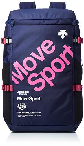 [デサント] リュック [デサント]リュック MoveSports スクエアバッグ 容量:30L DMANJA07DT ネイビー×ピンク One Size