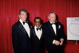 Photo Dean Martin Sammy Davis Jr Frank Sinatra 1989