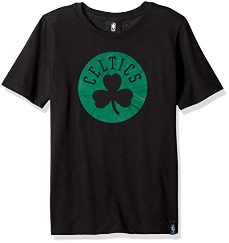 Outerstuff NBA NBA Youth Boys Boston Celtics Tactical Ultra Short Sleeve Tee, Black, Youth Large(14-16)