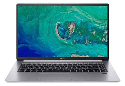 "Acer Swift 5 Ultra-Thin & Lightweight Laptop 15.6"" FHD IPS Touch Display in a thin .23' bezel, 8th Gen Intel Core i5-8265U, 8GB DDR4, 256GB PCIe NVMe SSD, Back-lit Keyboard, Windows 10, SF515-51T-507P"