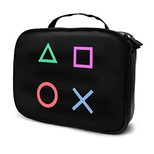 Porta Copos Gamer PS Mode Reise Make-up Zug Fall tragbare Kosmetiktasche Mehrzweck Tasche Geschenk für Kosmetik Make-up Werkzeuge Toilettenartikel Jewelr