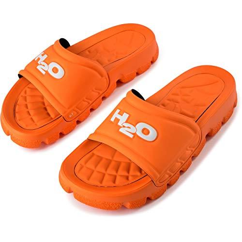 H2O Damen Sandalen Trek Badelatschen Slipper