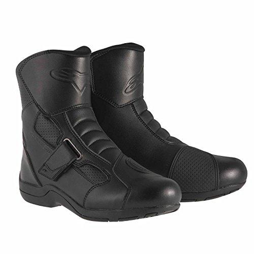 Alpinestars Ridge Waterproof Men's Street Motorcycle Boots (Black, EU Size 42)