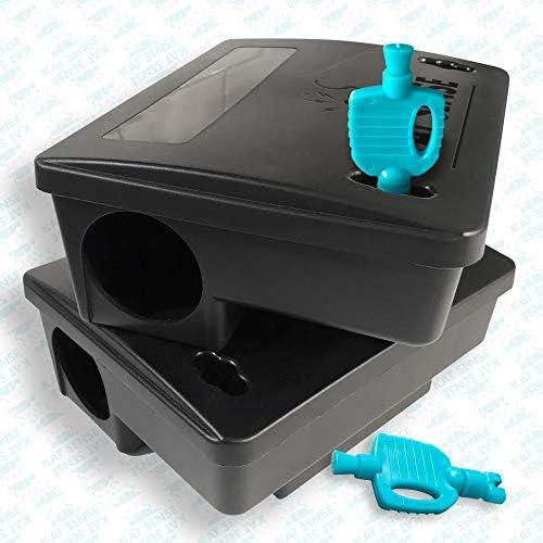 Kat Sense Rat Bait Station Traps Reusable Humane Rodent Box Against Mice Chipmunks N Squirrels product image