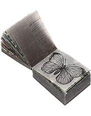 Artibetter 365 Hojas Vintage Scrapbooking DIY Material Diario DIY Embellecimiento Suministros para Scrapbooking Y Artesanía