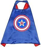 htrdjhrjy Dankbar Superheld Umhänge Kostüme für Kinder Jungen Mädchen Party Aufmerksamkeiten -...