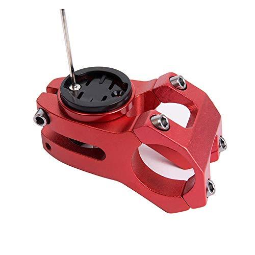 CYSKY Garmin Edge Mount, Fahrradvorbau-Halterung für Garmin Bryton Radfahren GPS Computer, passend für Garmin 1000,820,810,800, 520,510,500,200 und Bryton 530 330 310 100 (Schwarz) - 6