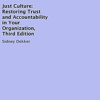 Just Culture audiobook cover art