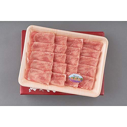 ( 産地直送 お取り寄せグルメ ) 北海道上富良野 地養豚 ロースしゃぶしゃぶ 400g