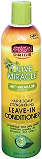 African Pride Olive Miracle Leave-in Conditioner, 12 Ounce