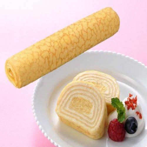 フレック フリーカットケーキ ミルクレープロール プレーン 275g【冷凍】