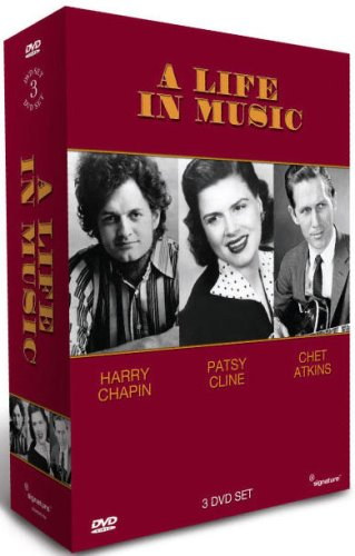 Patsy Cline Harry Chapin Bargain And Chet Atkins In Music - DVD Life A Reservation