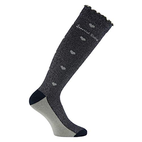 Imperial Riding Socken Happy Magic Black Sommer 2020, Farbe:Navy
