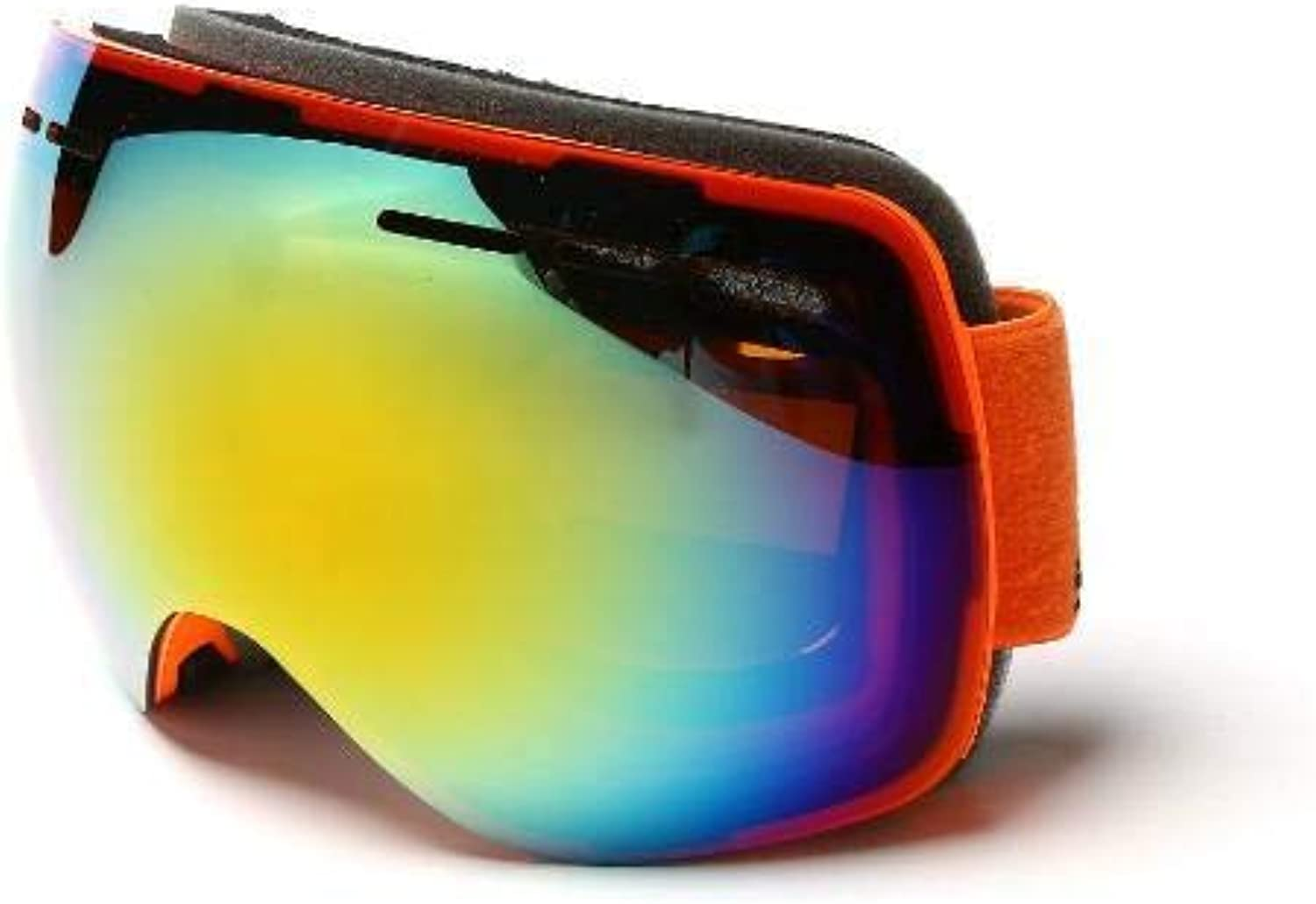 TtKj Sports Glasses Ski Goggles DoubleLayer AntiFog and SandProof can be Used for Hiking Outdoor Sports Glasses.