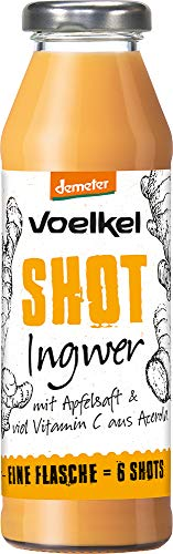 Voelkel Bio Shot Ingwer (6 x 280 ml)