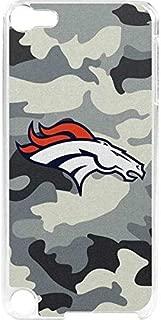 Skinit NFL Denver Broncos iPod Touch 6th Gen LeNu Case - Denver Broncos Camo Design - Premium Vinyl Decal Phone Cover