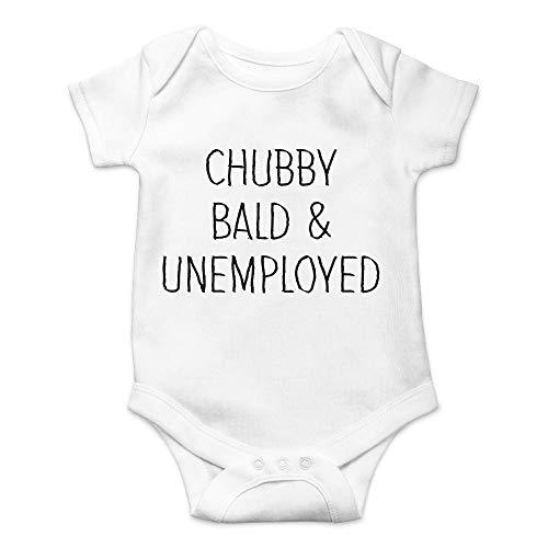 63251vdgxdg Chubby Bald & Unemployed – I Love The Baby Life – Bonito body de una pieza para bebé