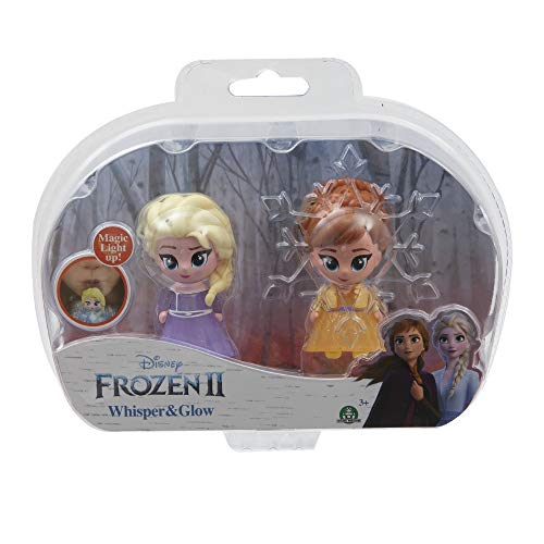Giochi Preziosi Disney Frozen 2 Whisper and Glow Double Blister Elsa O. and Ana O.