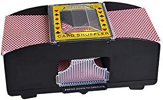 2 Decks Automatic Battery Operated Poker Card Shuffler Game Playing Shuffling Machine