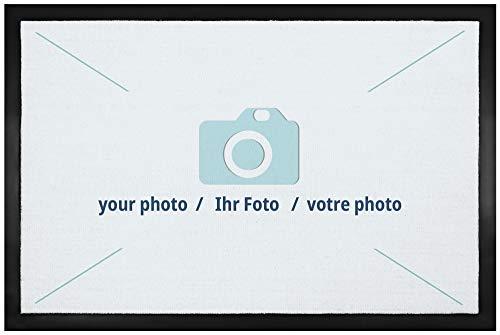 1art1 Ihr Wunschartikel - Ihr Bild oder Foto Personalisierbar Fußmatte Innenbereich und Außenbereich | Design Türmatte 60 x 40 cm