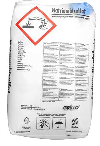 well2wellness pH-Minus Granulat pH-Senker Granulat 25 kg Natriumbisulfat