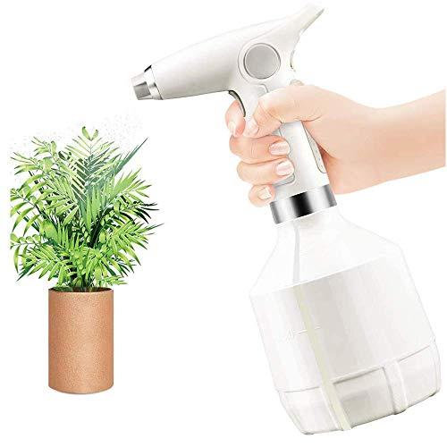 FiiMoo Aerosol eléctrico, Botella de Spray electrico para Plantas y Flores, Regadera eléctrica para Alcohol, Limpieza del hogar, 1000ML (Azul)