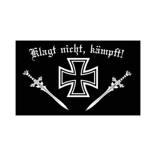 DH 8 - Klagt Nicht kämpft Fahne 90 x 150cm