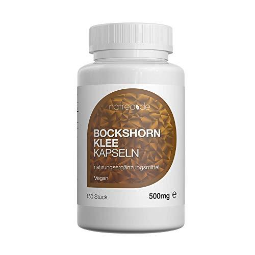 Natrea Bockshornklee Kapseln | vegan | 150 Kapseln 500mg reines, qualitativ hochwertiges und...