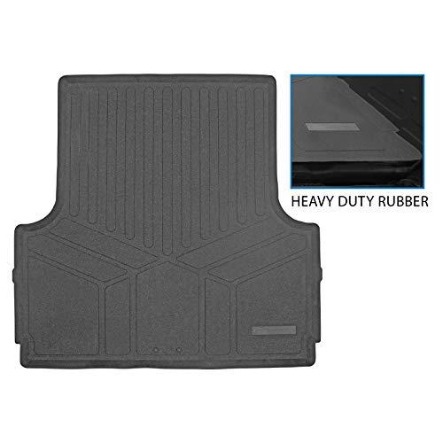 SMARTLINER K0121 Rugged Rubber Bed Liner Mat for 2004-2021 Nissan Frontier Only Fits Crew Cab Short...