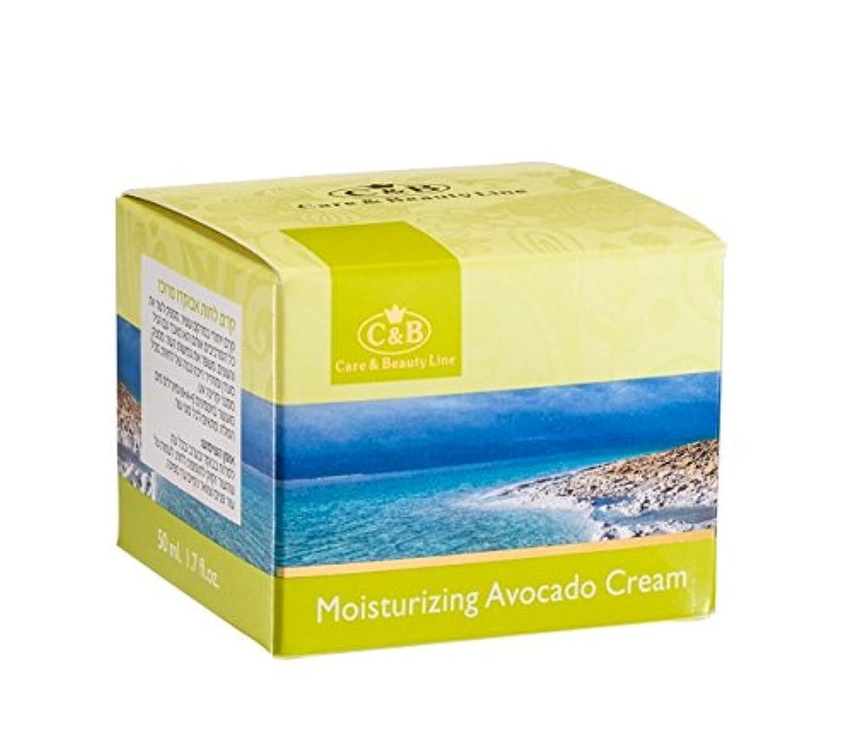 心配ふざけた蒸留する濃縮アボカド潤いクリーム 50mL 死海ミネラル Concentrated Moisturizing Avocado Cream