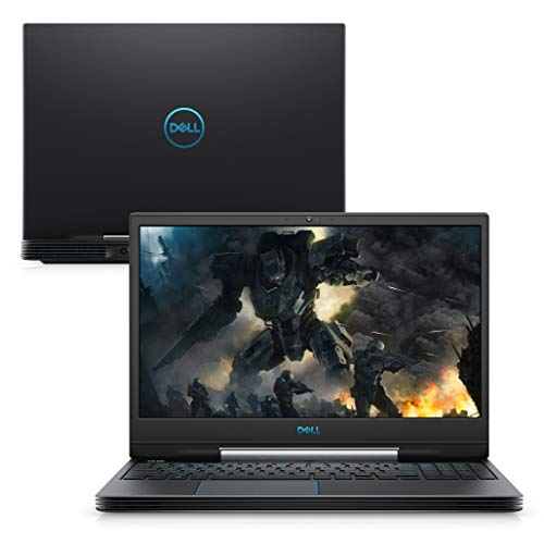 "Notebook Dell G5 Gaming G5-5590-A55P, 9ª Geração Intel Core i5 i5-9300H, 8GB, 512GB SSD, NVIDIA GTX 1650 4GB, Tela LED 15.6"" Full HD, Windows 10, Preto"