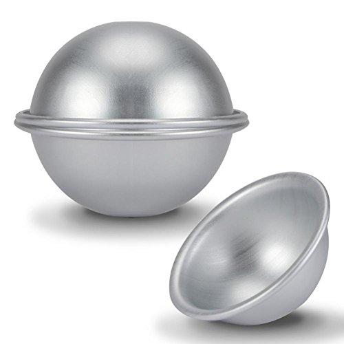 10cm Halbkreisform Aluminium Hemisphäre Chiffon Kuchenform Runde Kugel Kuchenformen Kuchen Dessert Pudding Backform